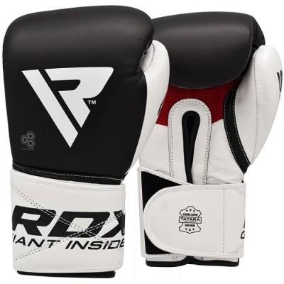 Оригинальные Боксерские Перчатки RDX Pro Gel S5 - Black/White