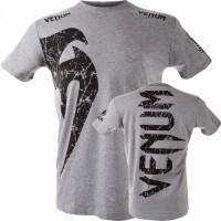 Футболка Venum Giant T-shirt - Grey/Black