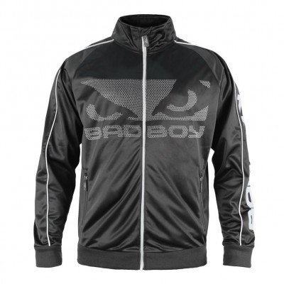 Оригинальная Олимпийка Bad Boy All Around Track Jacket - Black/Grey