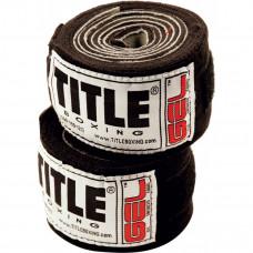 Оригинальные Гелевые Бинты Title Iron Fist Wraps (3 М) - Black
