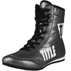 Оригинальные Боксерски TITLE Money Metallic Flash Boxers - Stone Gray/Black