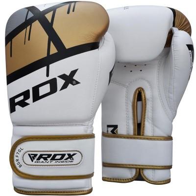 Оригинальные Боксерские Перчатки RDX F7 Ego Boxing Gloves - Golden