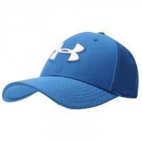 Бейсболка Under Armour Heather Blitzing Cap Mens - Blue/White