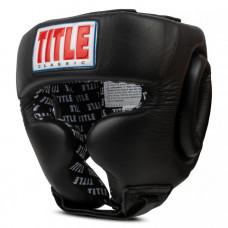Оригинальный Шлем TITLE Classic Traditional Training Headgear 2.0 - Black