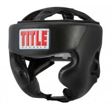 Детский Шлем TITLE Classic Hi-Performance Headgear 2.0 - Black