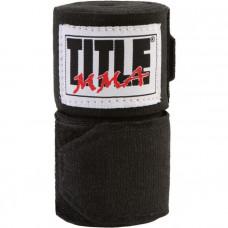 Оригинальные Бинты TITLE MMA Semi-Flex Combat Wraps (3М) - Black