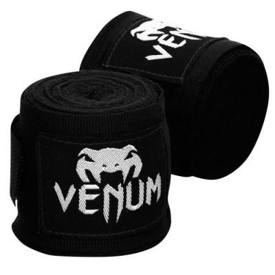 Бинты Venum Boxing Handwraps (4М) - Black/White