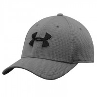 Бейсболка Under Armour Blitzing Stretch Fit 3.0 Cap - Grey