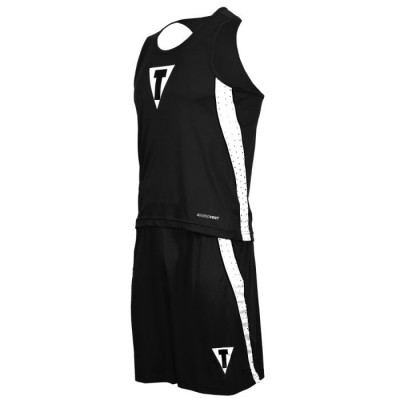 Оригинальная Боксерская Форма TITLE Performance Aerovent Amateur Boxing Set - Black/White