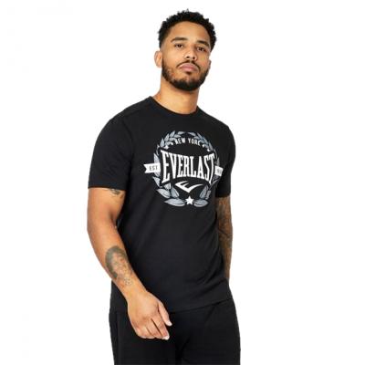 Оригинальная Футболка Everlast New York T-Shirt Mens - Black