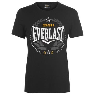 Оригинальная Футболка Everlast Laurel T Shirt Mens - Black