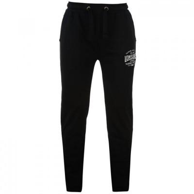Оригинальные Спортивные Штаны Lonsdale Box Lightweight Sweat Pants Mens - Black
